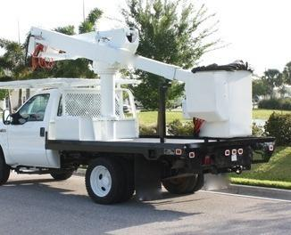 2008 Ford 42ft Altec bucket boom truck - 20015