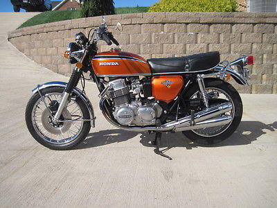 Honda : CB 1972 honda cb 750 k 2 one owner super nice must see 250 pictures