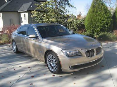 BMW : 7-Series Li 2009 bmw 750 li sedan 4 door 4.4 l dual turbo