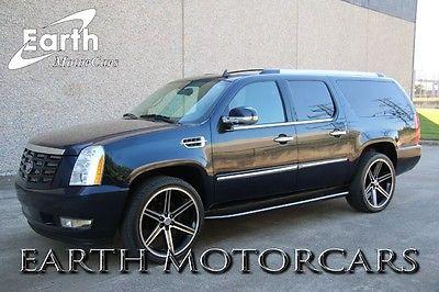 Cadillac : Escalade ESV AWD 2008 caddilac escalade esv awd nav custom wheels