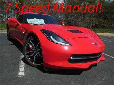 Chevrolet : Corvette 2dr Stingray Z51 Coupe w/2LT 2015 chevrolet corvette coupe z 51 7 speed manual navi big savings
