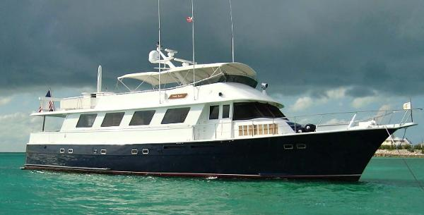 Hatteras aft deck motor yacht boats for sale in florida for Motor yachts for sale in florida