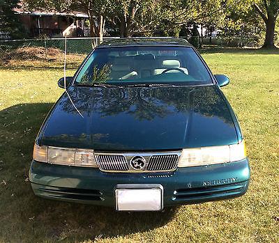 Mercury : Cougar XR7 1995 mercury cougar xr 7 dark green with bostonian roof design