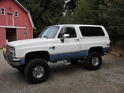 Chevrolet : Blazer KBZ 1986 chevrolet k 5 blazer