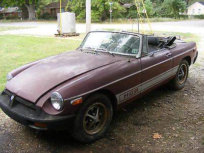 MG : MGB 1977 mgb convertible
