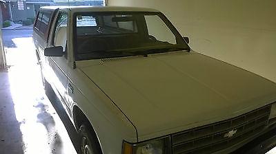 Chevrolet : Blazer S10 1989 chevrolet s 10 base standard cab pickup 2 door 2.5 l