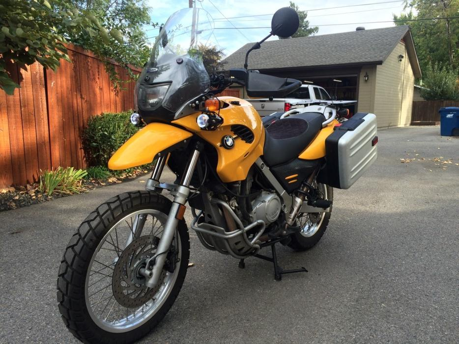 bmw gs 650 yellow motorcycles for sale. Black Bedroom Furniture Sets. Home Design Ideas