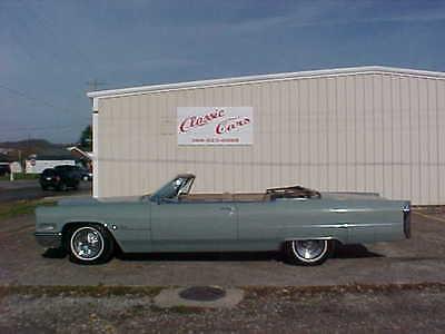 Cadillac : DeVille CONVERTIBLE 1966 cadillac deville convertible