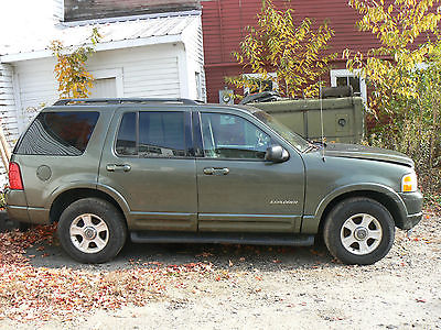 Ford : Explorer Limited Sport Utility 4-Door 2002 ford explorer limited sport utility 4 door 4.6 l