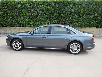 Audi : A8 TDI 2015 audi a 8 l tdi quattro tiptronic loaded with only 2300 miles monsoon gray