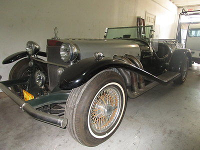 Other Makes : Excalibur Series 1 SS Roadster Excalibur SS Roadster 1968 excalibur ss series 1 roadster convertible 1 of 37 produced all original