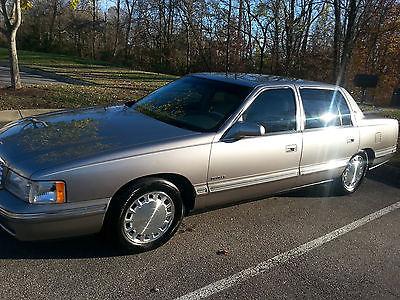 Cadillac : DeVille Deville 4 Door Sedan 1999 cadillac deville dealer serviced only mint cond loaded