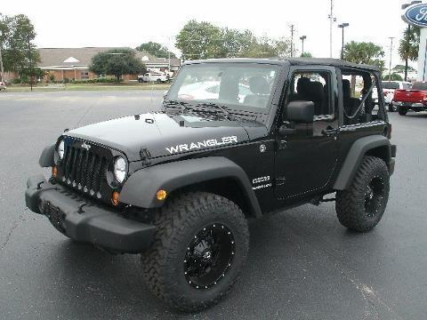 2012 JEEP WRANGLER 2 DOOR SUV
