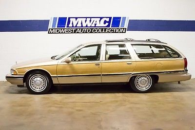 Buick : Roadmaster Estate Wagon ONE OWNER~SOUTHERN CAR~G80~LT1~G67~ONLY 18K MILES!