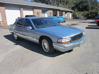 Buick : Roadmaster Base Sedan 4-Door 1993 buick roadmaster base sedan 4 door 5.7 l 101 k 2 owner mi zero rust nice