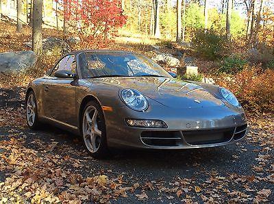 Porsche : 911 Convertible 2006 porsche 911 convertible 15 000 miles tiptronic perfect condition
