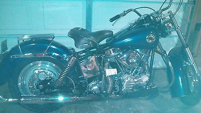 Harley-Davidson : Other 1958 harley davidson flh panhead