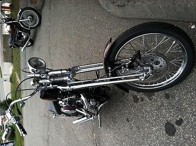 Custom Built Motorcycles : Chopper Custom Chopper - Paughco Rubber Mounted Sportster $23,000.00