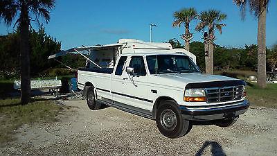 Ford : F-250 XLT Extended Cab Pickup 2-Door Super Clean 93 Ford F-250 XLT Extended Cab Pickup 2-Door 7.3L W/ Gear Venders OD