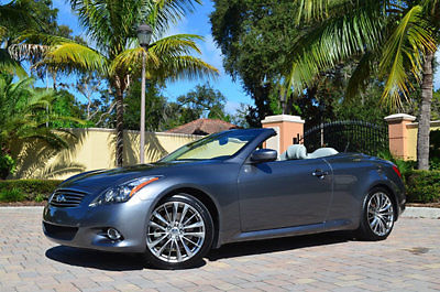 Infiniti : G37 W/Premium and Navigation 2012 infiniti g 37 convertible w premium and navigation 19 wheels cooled seats
