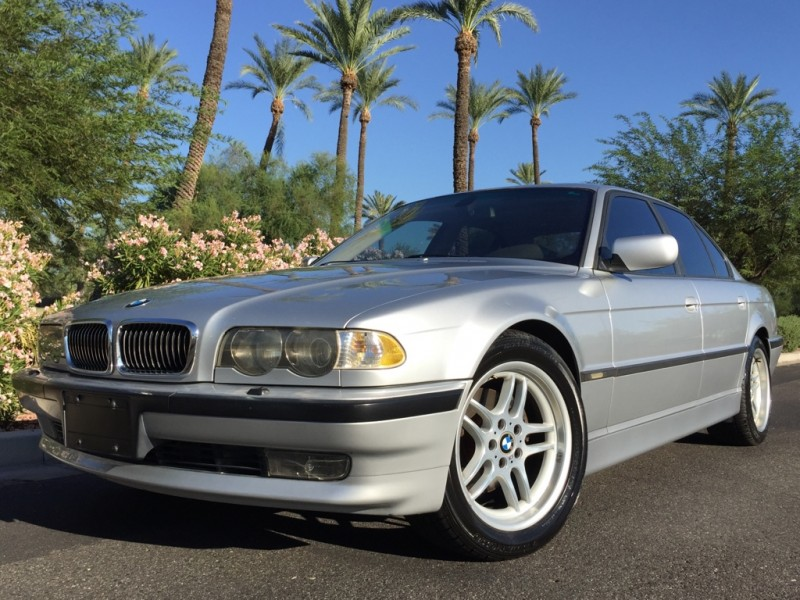 2001 BMW 7 Series 740I M-SPORT PKG - 1 OWNER - LOW MILES - CARFAX CERTIFIED!