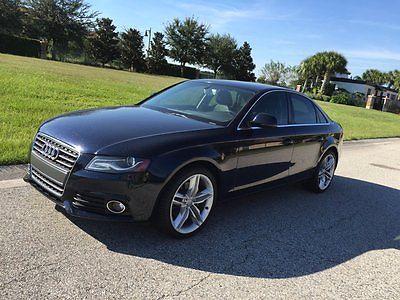 Audi : A4 Premium Plus 2009 audi a 4 premium plus sport 2.0 t quattro 4 wd low miles navigation mint