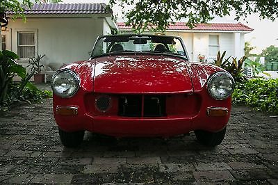 MG : Midget Convertible 1970 convertible red mg midget rally car