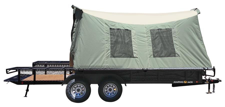 2016 Jumping Jack Argo 6x17 with Patio