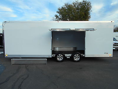 New 2016 ATC Aluminum Quest 24' CH205 with Premium Escape Door Race Trailer