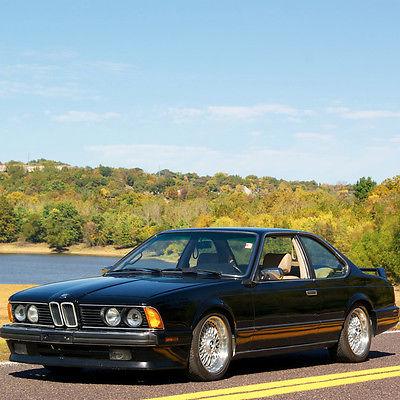 BMW : 6-Series 635 CSI  1989 bmw 635 csi badging 68 897 actual miles coilover suspension fast