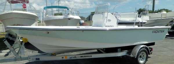 2016 Pathfinder Frontier Boats 180 CC w Evinrude HO E-TEC 115hp