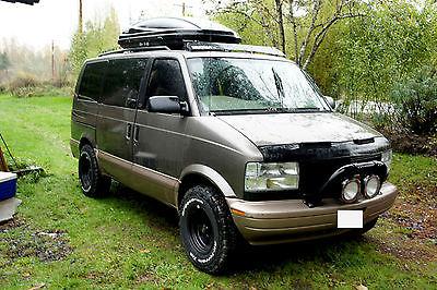 GMC : Safari SLE Standard Passenger Van 3-Door 2000 gmc safari awd lifted full of new parts