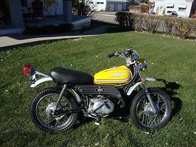 Yamaha : Other 1973 yamaha gt 1 gt 1 gt 80 gt 80 mini enduro