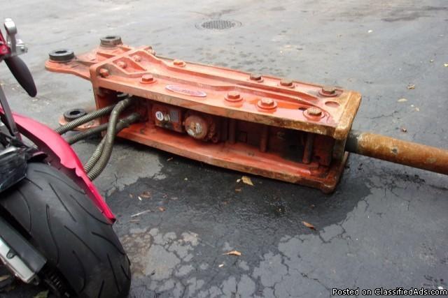 Rockblaster Hydraulic Hammer - RTR# 5073781-01