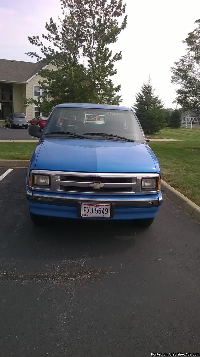 1995 Chevy S10 Cars for sale