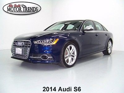 Audi : S6 DRIVER ASSIST PACKAGE COLD WEATHER PACKAGE BOSE AUDIO 2014 audi s 6 prestige quattro nav sunroof driver assist pkg cold weather pkg 28 k