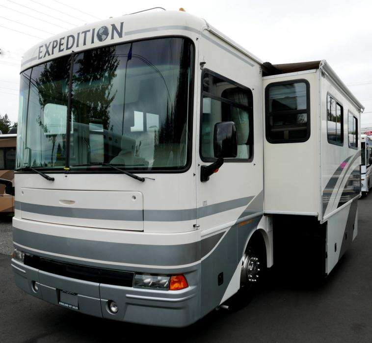 2002 Ford Expedition For Sale: Fleetwood Rv Expedition 36t Rvs For Sale