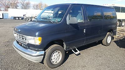 Ford : E-Series Van XLT 1994 ford club wagon xlt with ricon wheelchair lift and self drive
