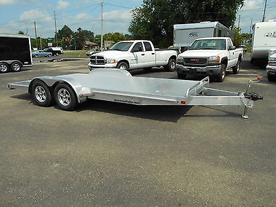 New 2016 ATC 18' All Aluminum Car Hauler Race Trailer Perfect for Low Cars!