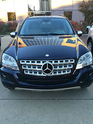 Mercedes-Benz : M-Class Bluetec 4Matic Sport Utility 4-Door 2009 mercedes benz ml 320 bluetec 4 matic sport utility 4 door 3.0 l