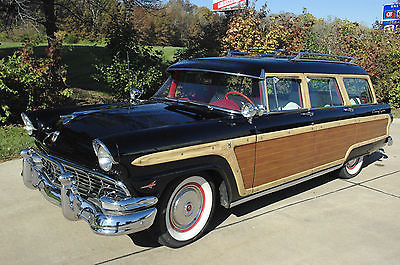 Ford : Other Country Squire 1956 ford country squire station wagon