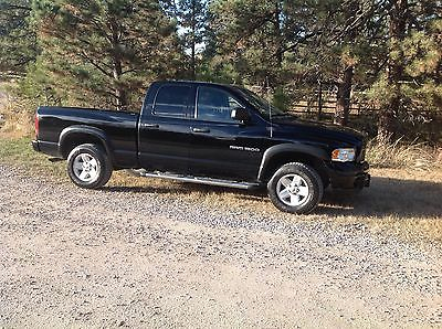 Dodge : Ram 1500 SLT 2003 dodge ram 1500 slt crew cab pickup 4 door 4.7 l