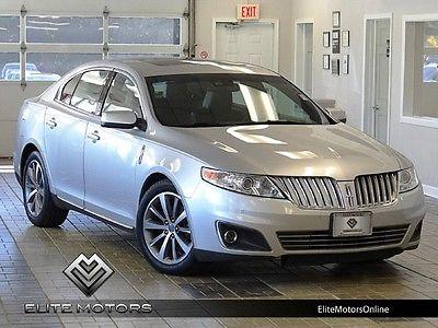 Lincoln : MKS Base Sedan 4-Door 09 lincoln mkz awd pano roof navi gps heated cooled seats microsoft sync