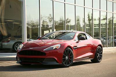 Aston Martin : Vanquish Vanquish 2014 aston martin vanquish 1840 km sell worldwide over 30 k options