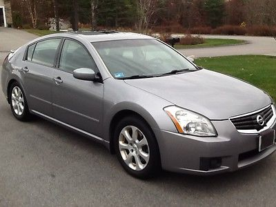 Nissan : Maxima SL Sedan 4-Door 2008 nissan maxima sedan 4 door 3.5 sl 255 hp v 6