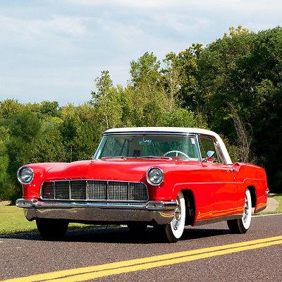 Lincoln : Continental Mark II 1956 lincoln continental mark ii rare sport model 368 v 8 rear factory air