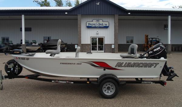 2008 Alumacraft Fisherman 160 Tiller