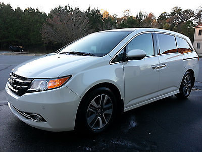 Honda : Odyssey TOURING , NOT ELITE ODYSSEY EX-L BMW AUDI LEXUS TOYOTA 2014 odyssey flood water damage not wrecked salvage repair project repairable
