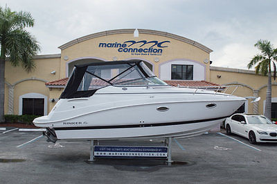 BRAND-NEW 2015 Rinker 260 EC Express Cruiser with Volvo Power