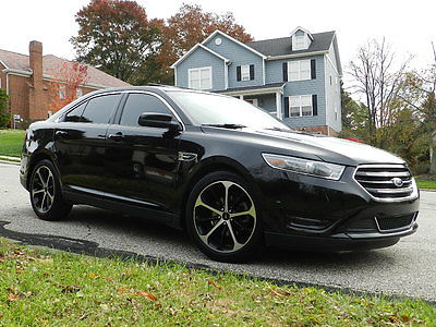 Ford : Taurus Limited  2014 ford taurus limited awd sony package gps park assist rebuilt salvage